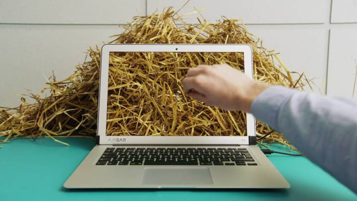 Macbook touch screen mod