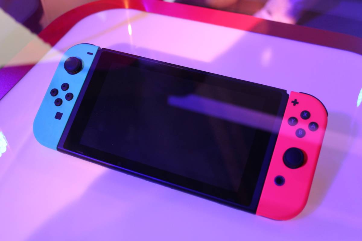 Nintendo Switch hands-on preview