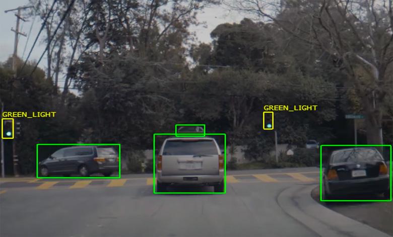 Nvidia Autonomous Car Demo Video