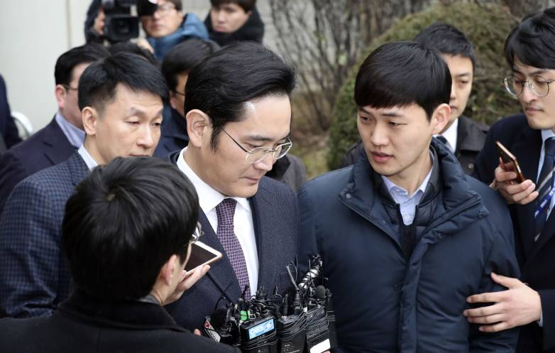 Samsung Boss Jay Y. Lee Arrested