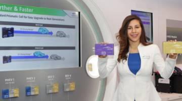 Samsung SDI Electric Car Batteries