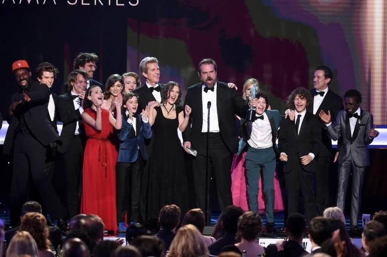SAG 2017 Winners Anti-Trump
