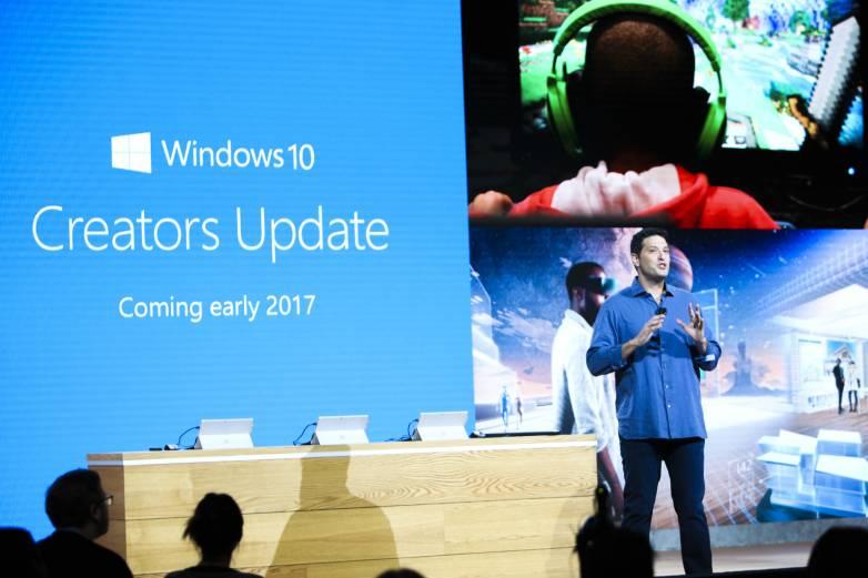 Windows 10 Creators Update Game Mode