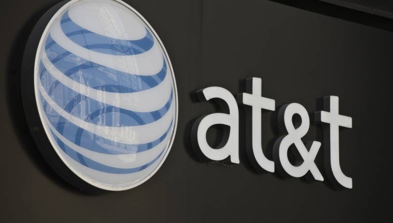 AT&T workers on strike