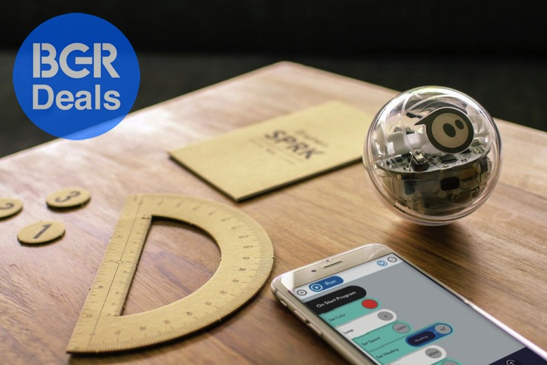 Sphero's app-enabled ball is the most fun you'll ever have learning to code