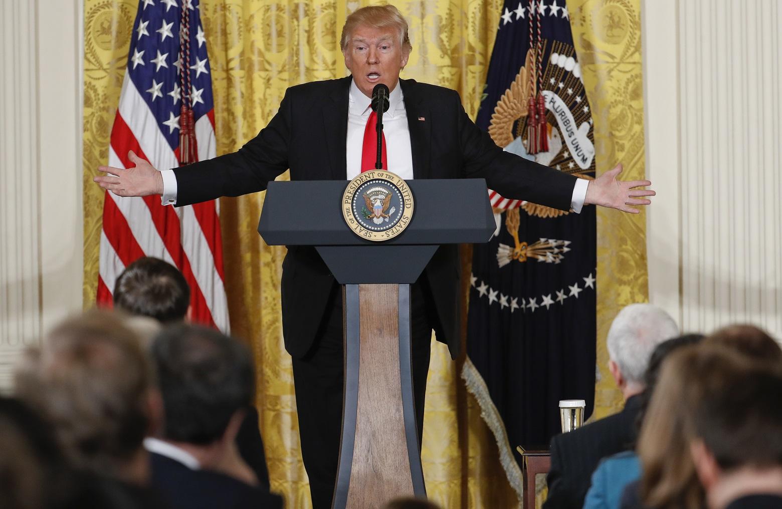 Donald Trump press conference video