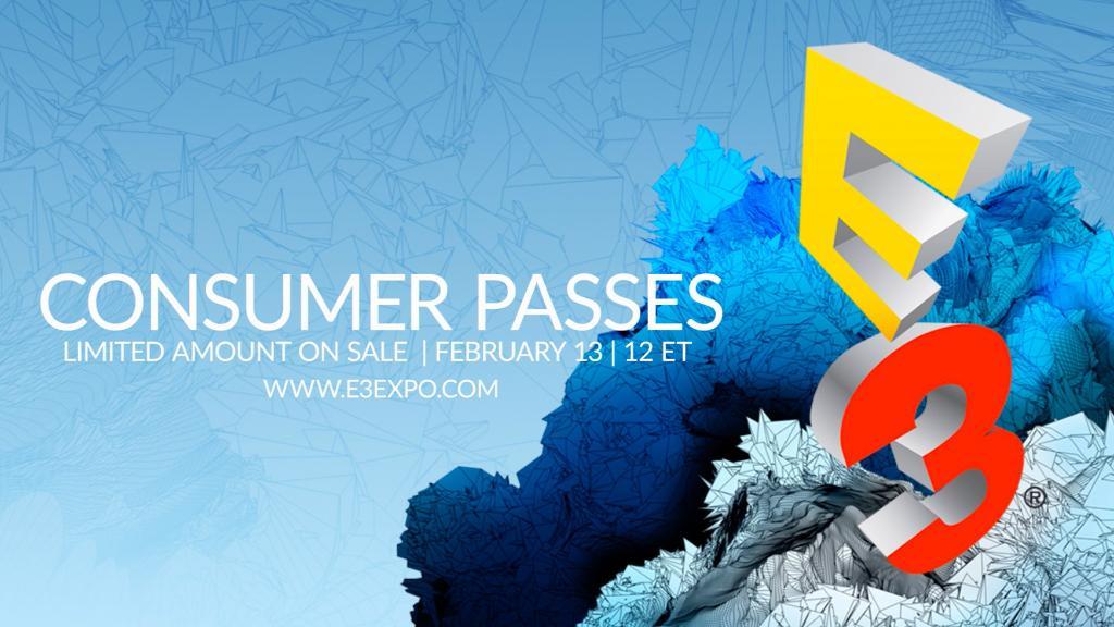 E3 2017 consumer passes