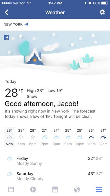 facebook-weather-section