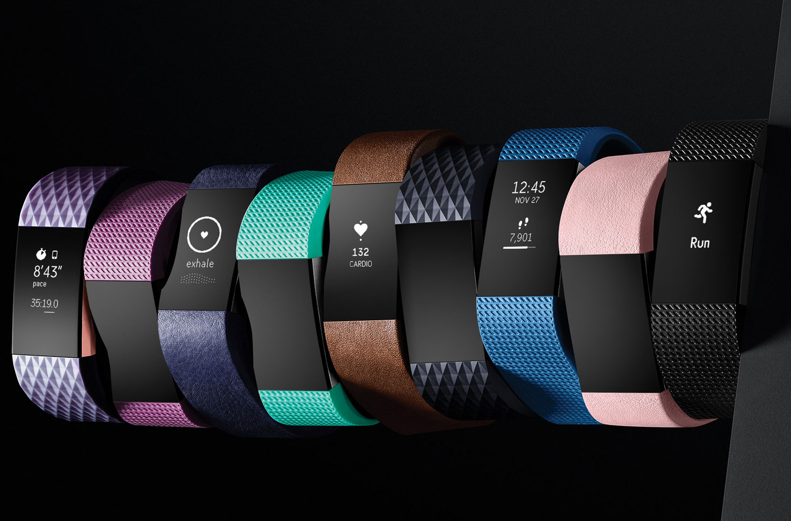 Best fitness trackers 2017