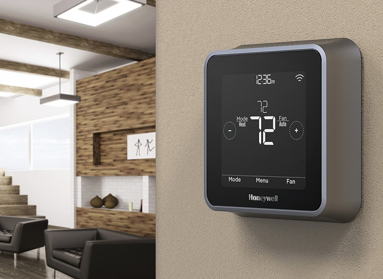 The Lyric T5 Smart Thermostat Works With Alexa And Siri