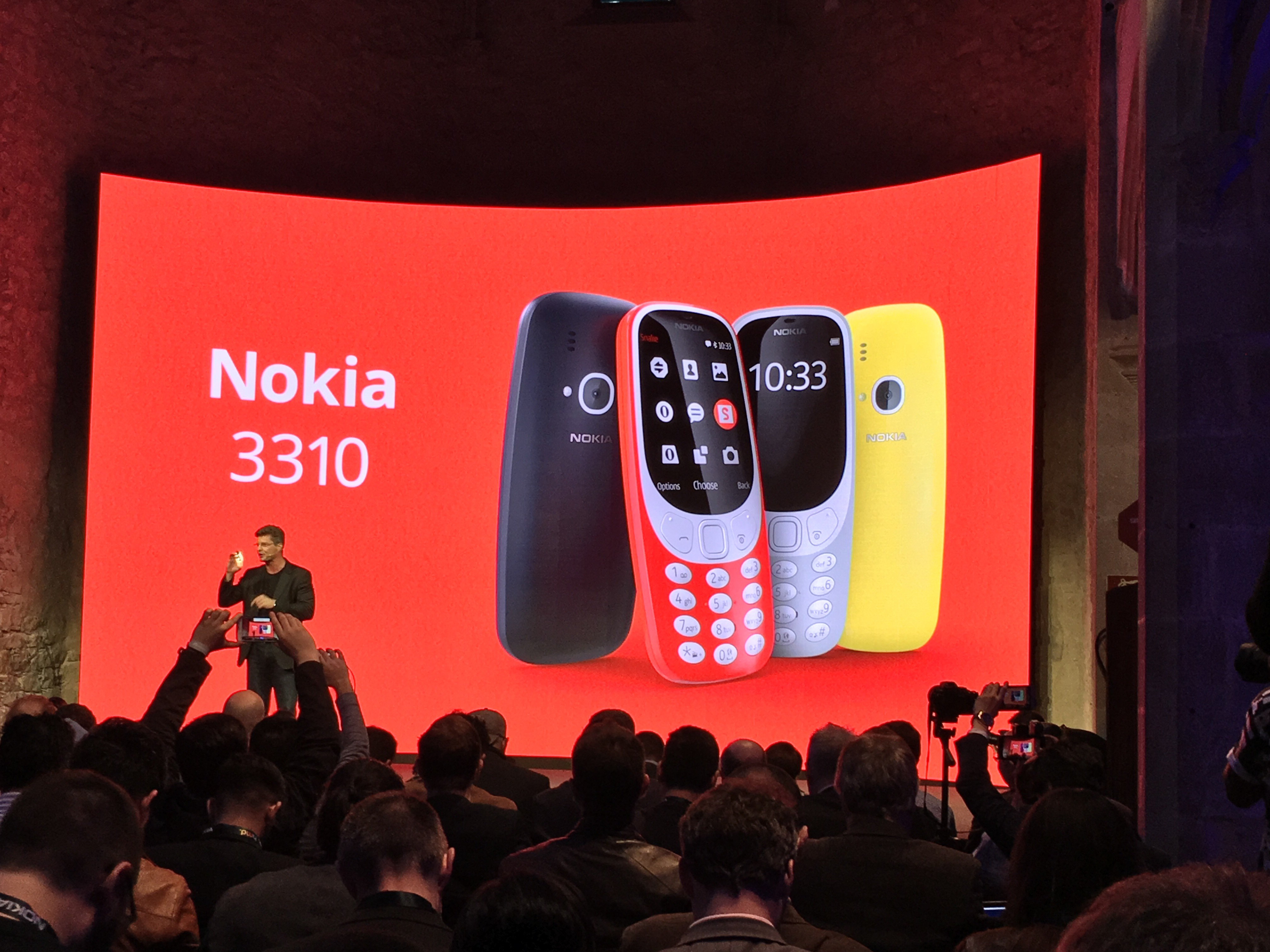 Nokia 3310 2017 Hands-on Preview