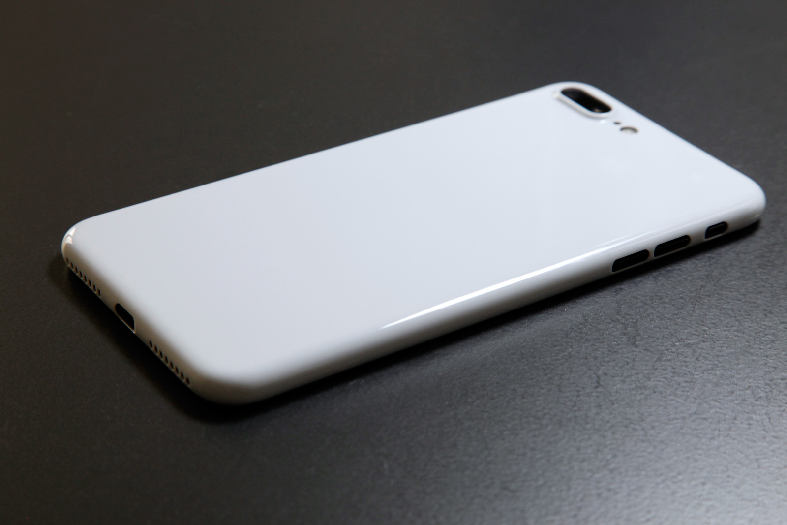 Jet White iPhone Case