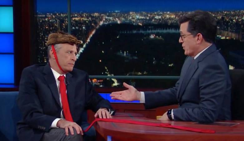 Jon Stewart vs. Donald Trump