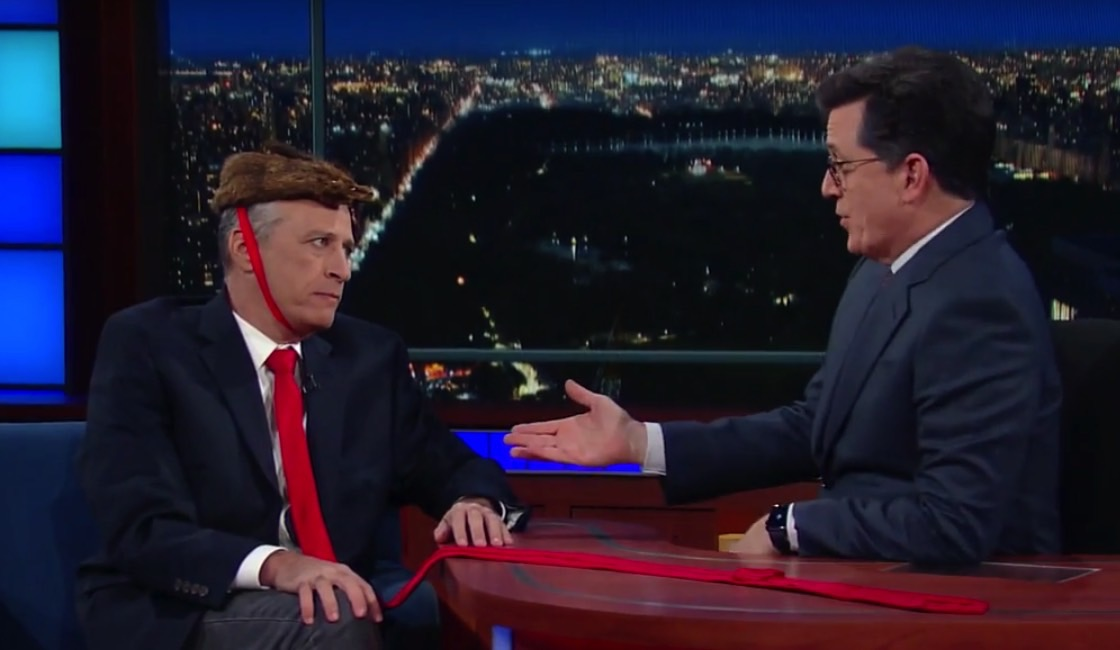 The Late Show to Host Daily Show Former Stars