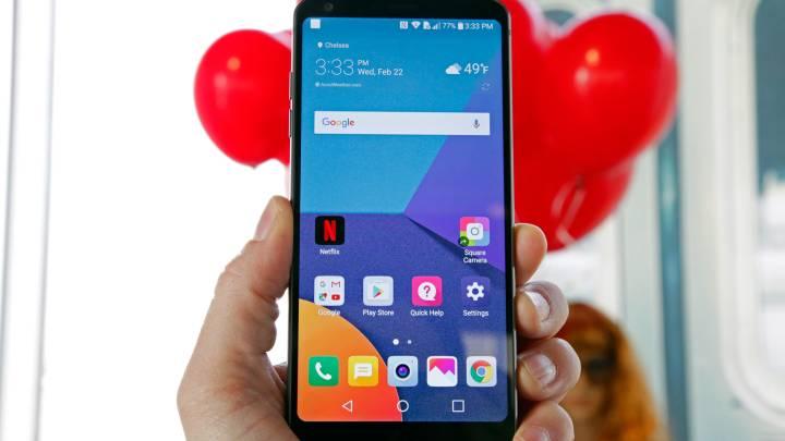 Galaxy S9 vs. LG G7