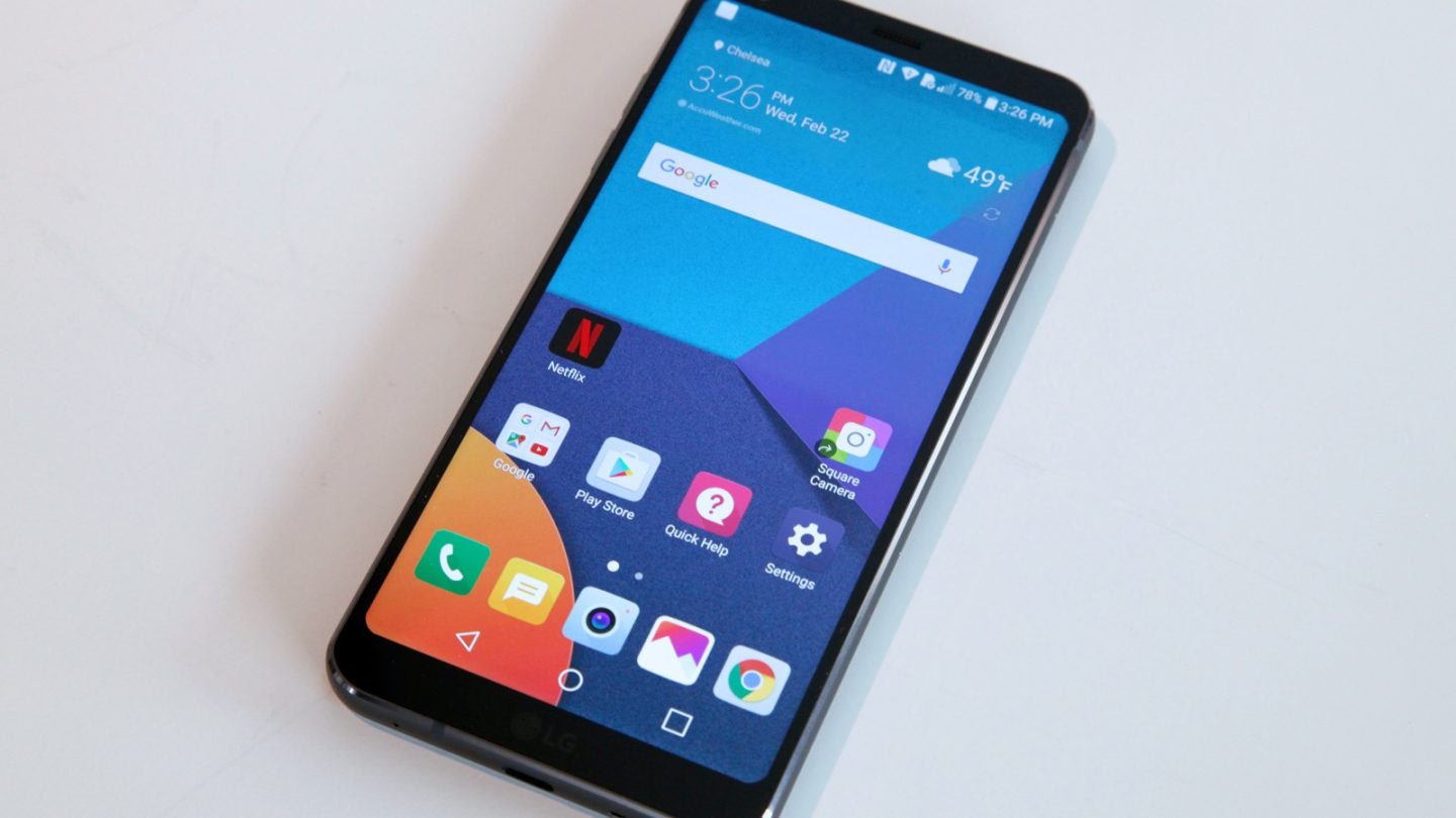 LG just confirmed the release date and price of the G6
