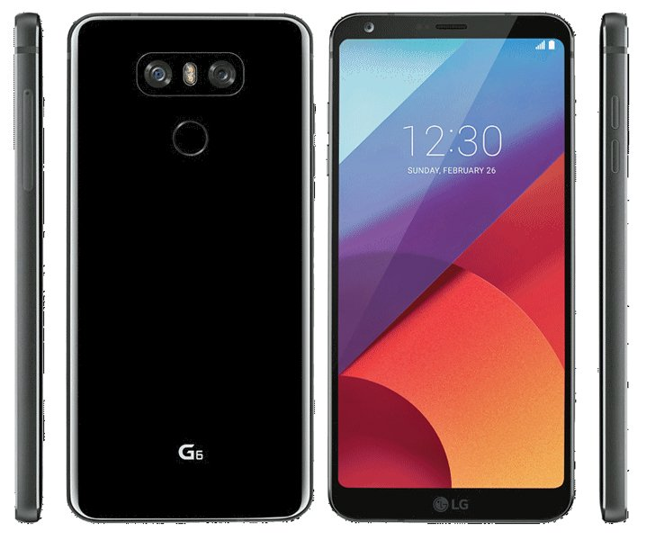 LG G6 press render leak