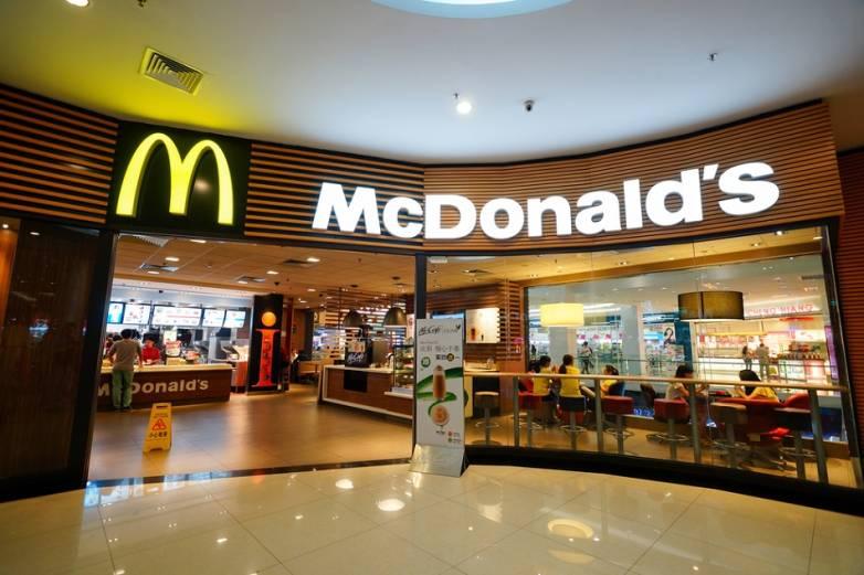 McDonalds Menu