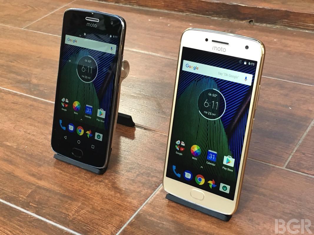 Moto G5 vs. Moto G5 Plus Hands-on