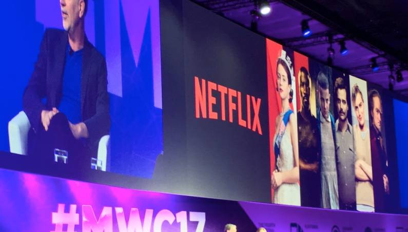 Netflix CEO Interview at MWC 2017