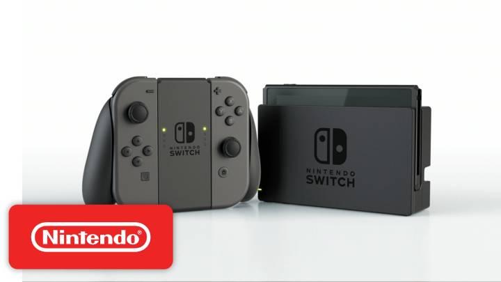 Nintendo Switch hardware video