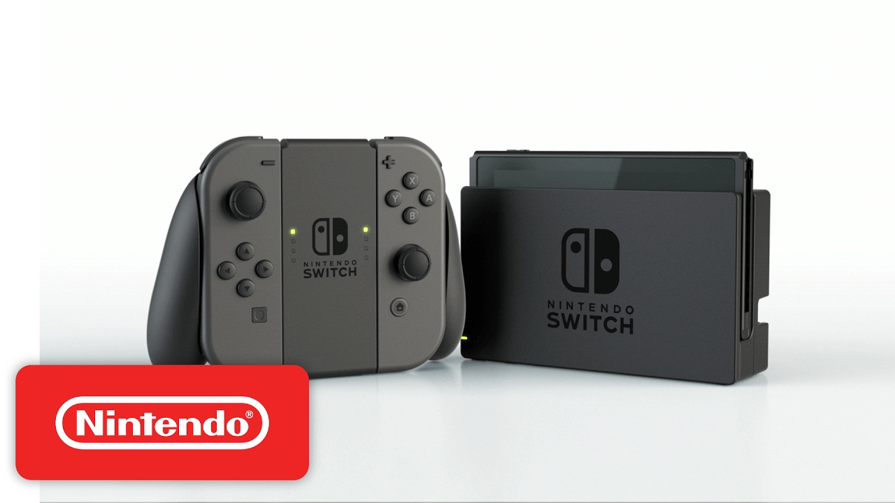 Nintendo Switch hardware video