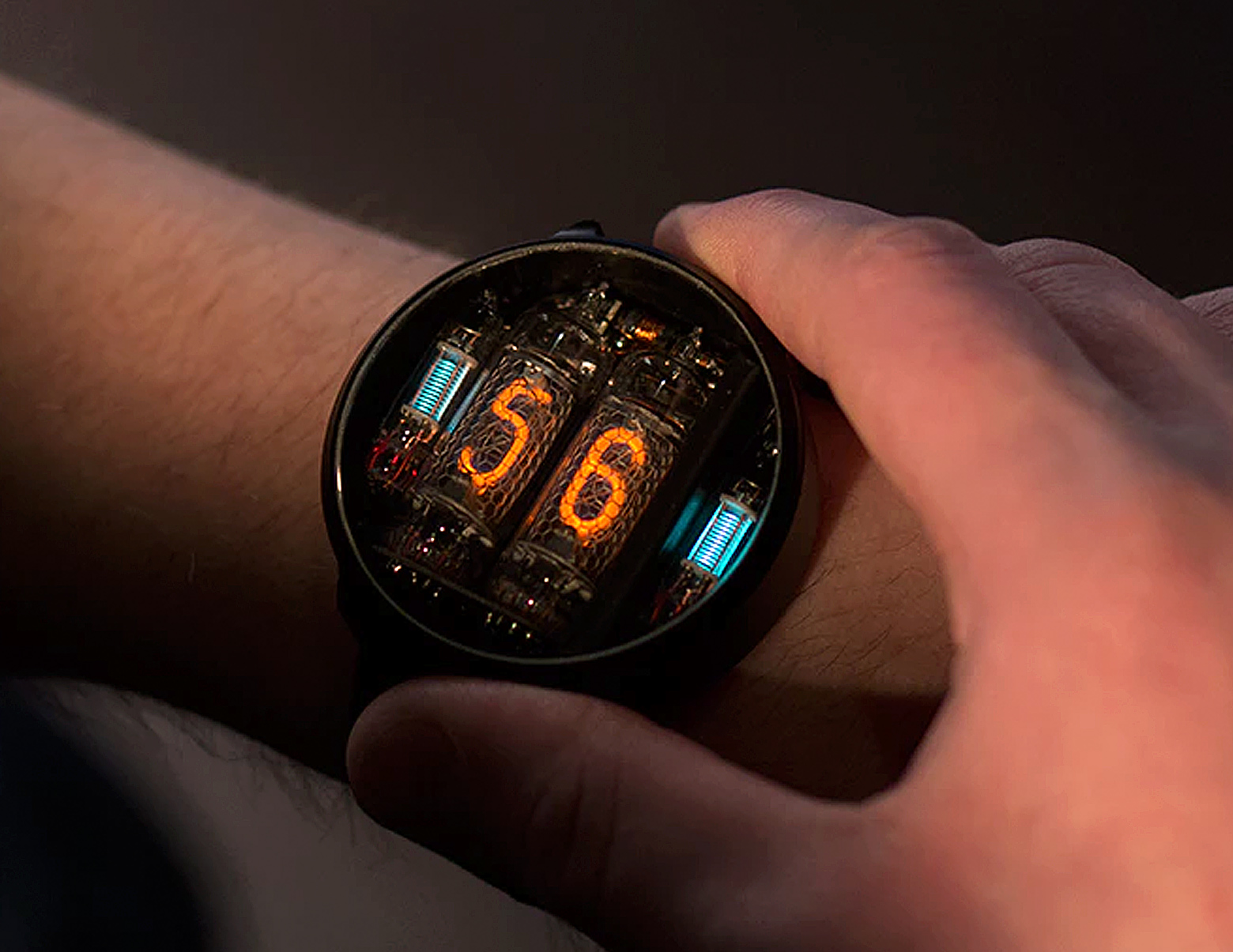 nixie watch