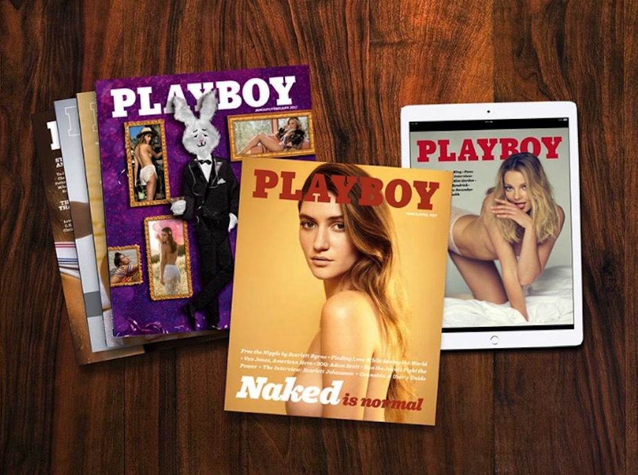 Playboy Nudes Are Back
