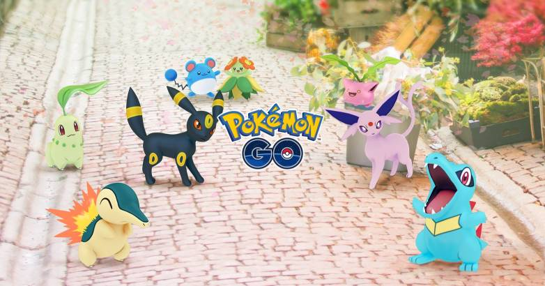 Pokemon Go Generation 2 update