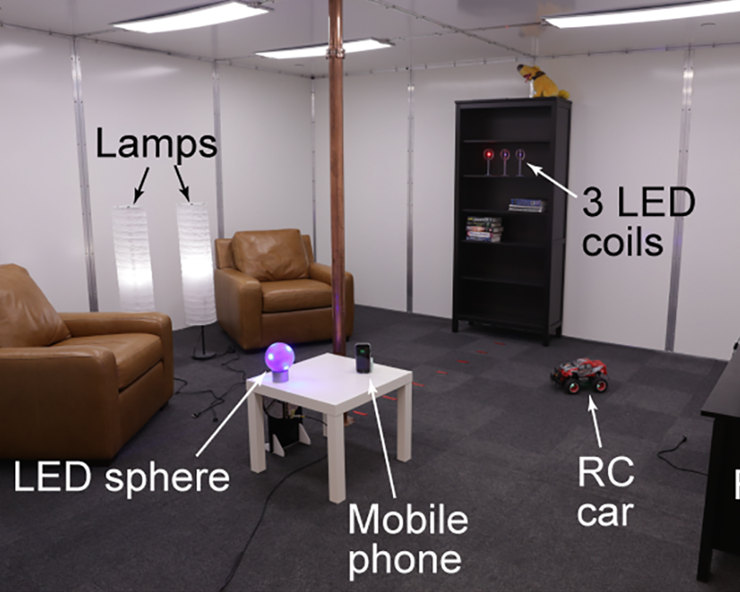 Disney builds living room that can wirelessly charge devices