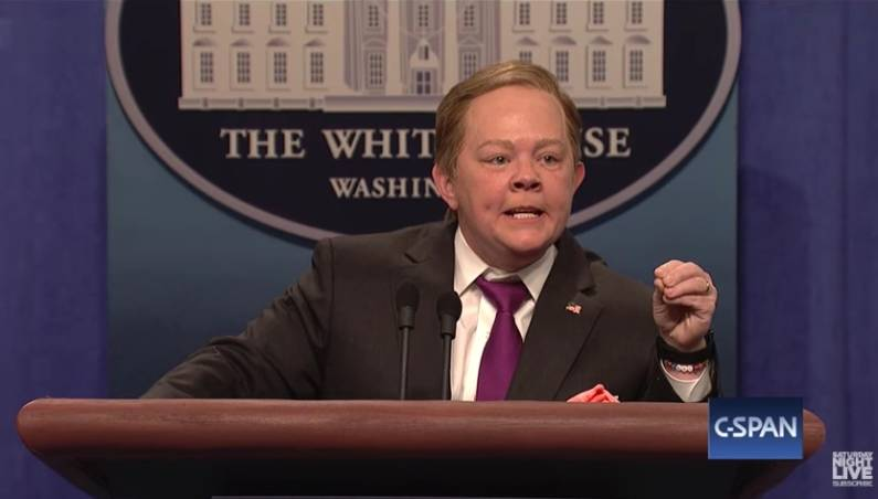 Sean Spicer Saturday Night Live