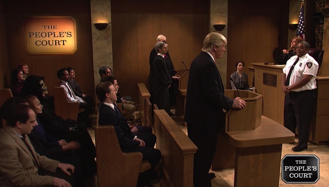 SNL Donald Trump Immigration Ban