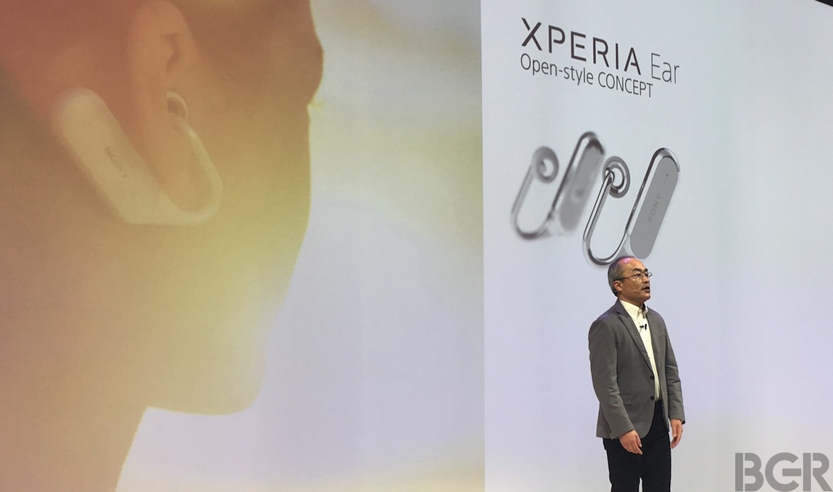 Sony Xperia Ear Open-style Concept