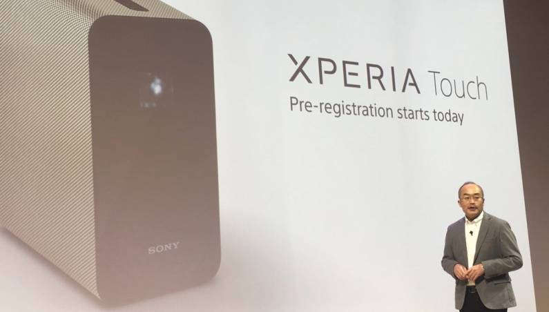 Sony Xperia Touch Release Date, Price