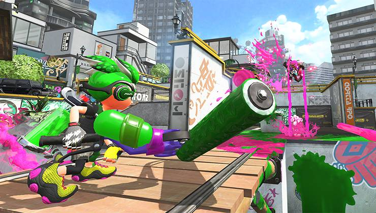 Splatoon 2 multiplayer demo
