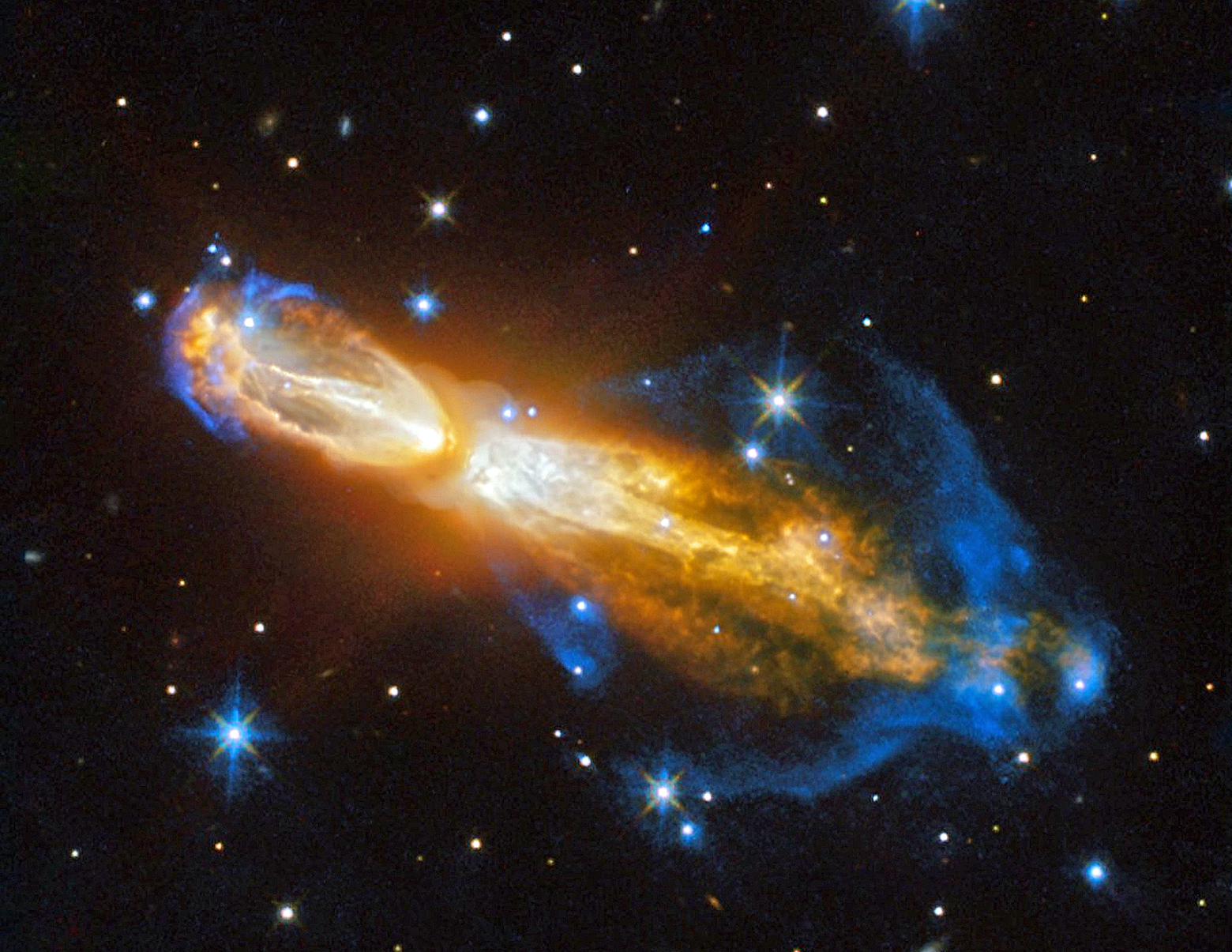 Hubble image: fantastic death of a star in 'Rotten Egg' Nebula