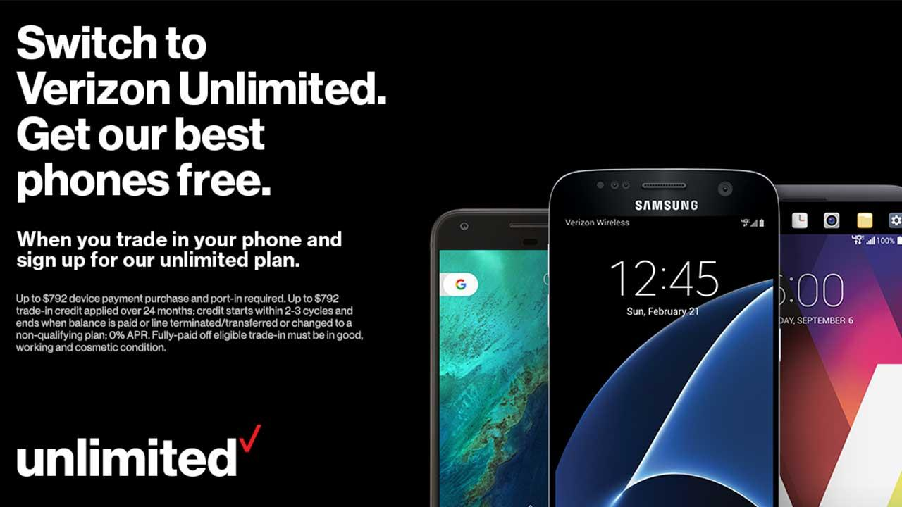 Verizon Will Give You A Free Iphone 7 If You Switch To Its New Unlimited Plan Bgr