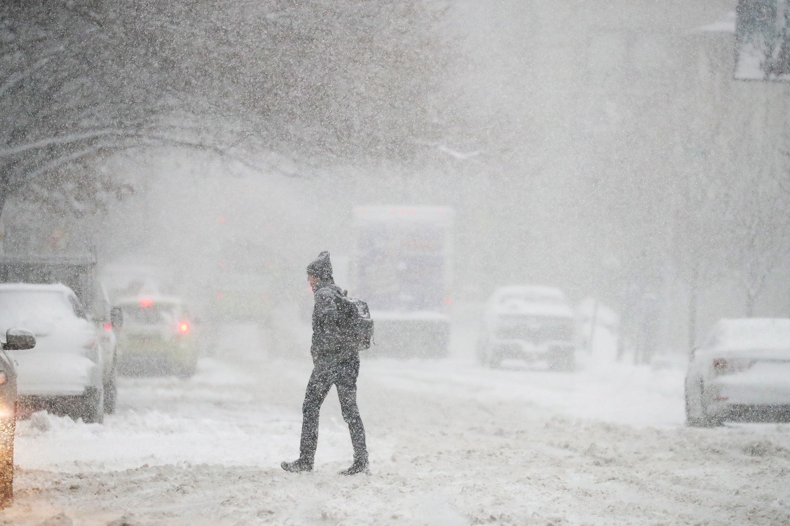 Winter Storm Niko: Flights cancelled