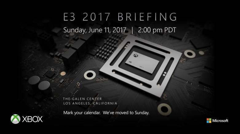 Xbox E3 2017 press conference