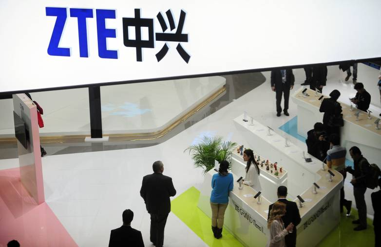 ZTE US sanctions lifted Trump tweet
