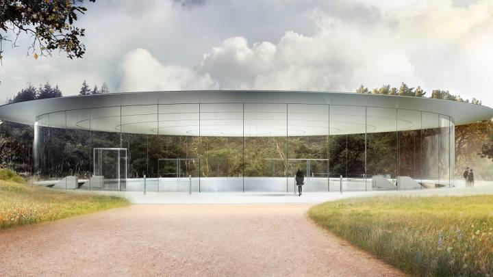 Apple Park glass walls