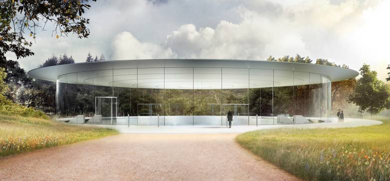Apple Park glass walls