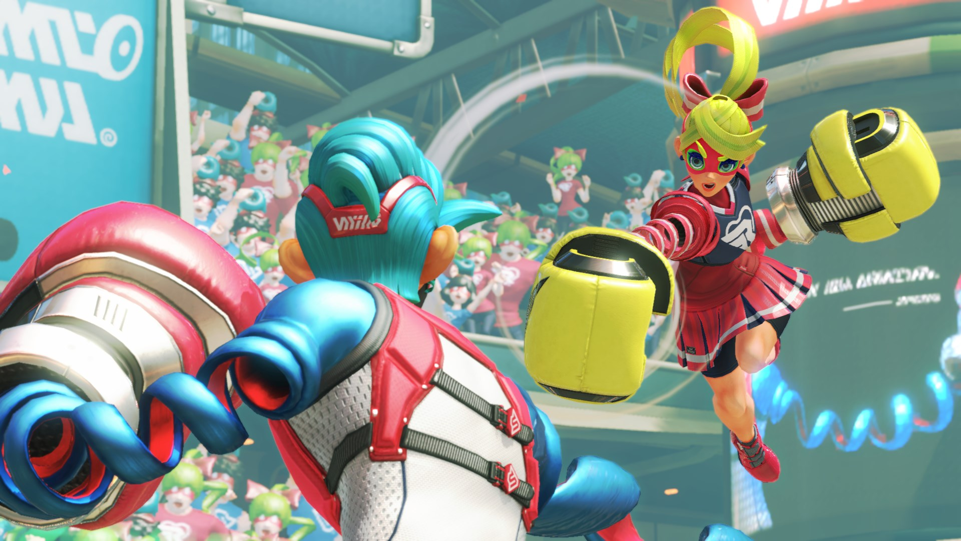Nintendo Releases New Arms Character and Weapons Trailer