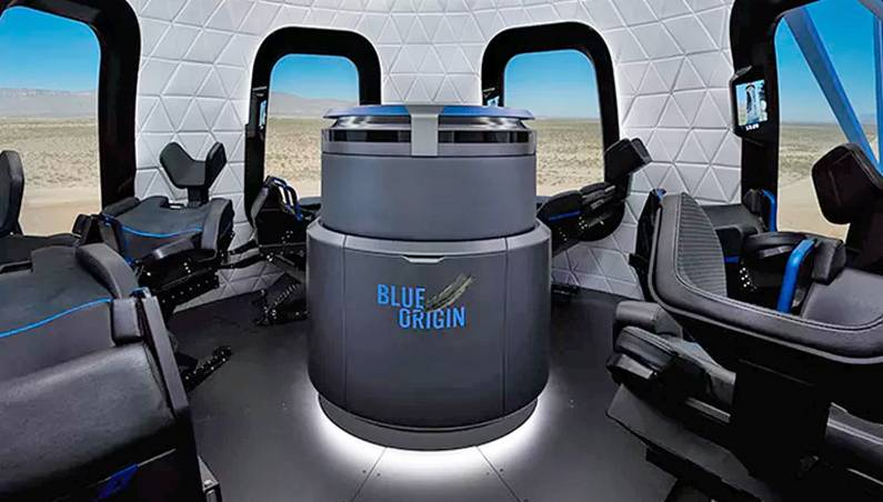Blue Origin Space Travel