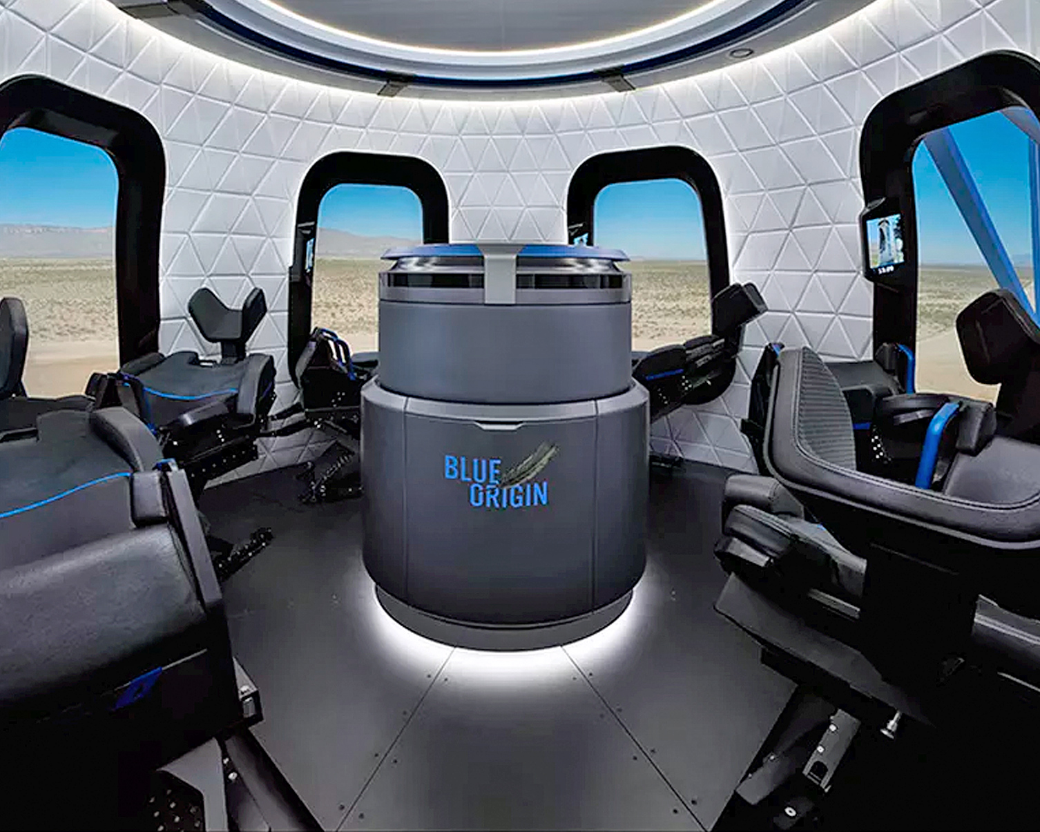 Jeff Bezos Bans Space Pooping and Space Barfing on Blue Origin