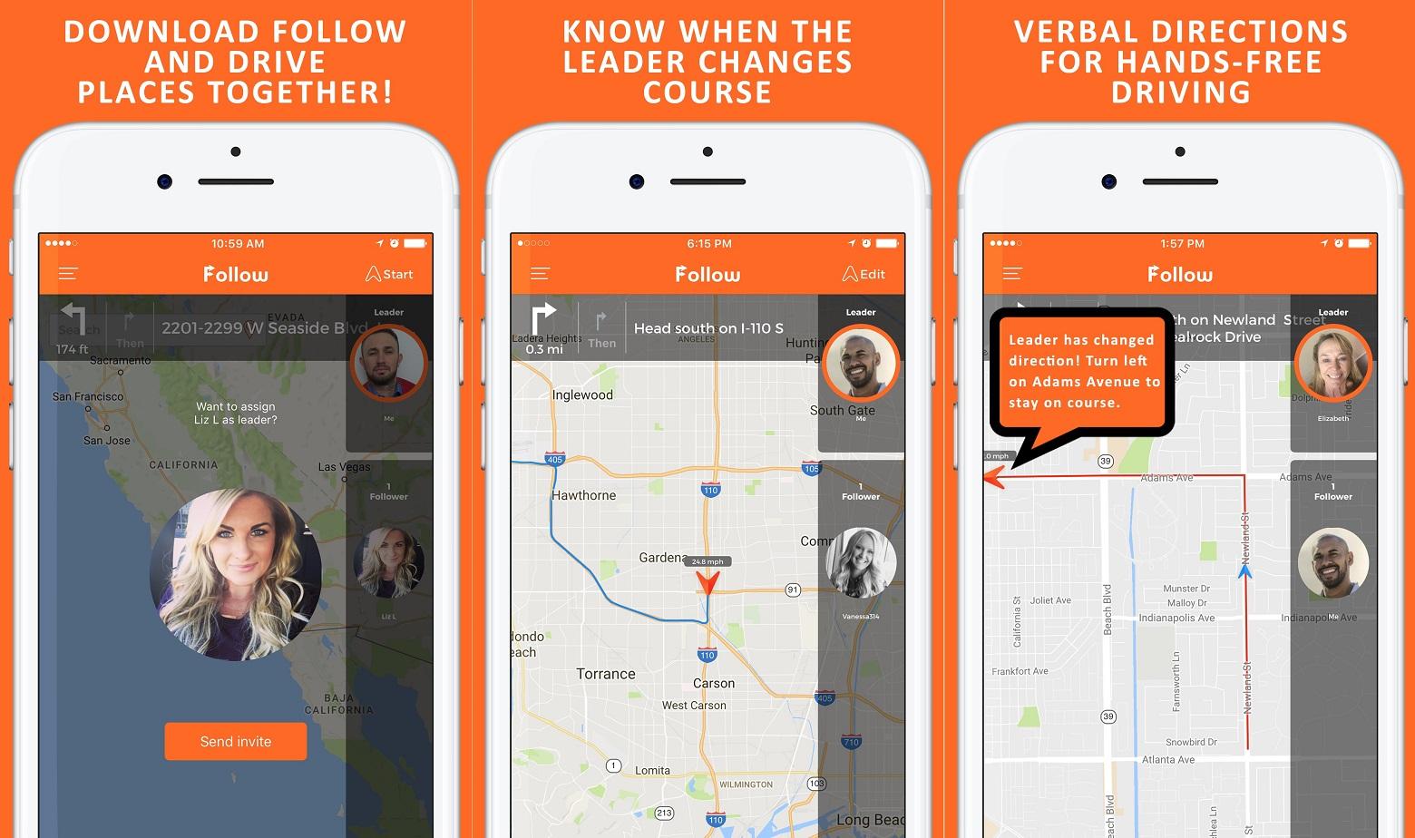 Follow Navigation App