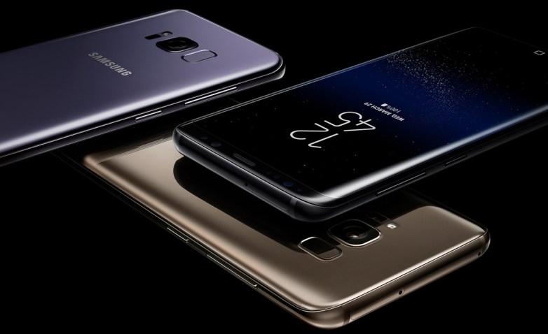 Galaxy S8 vs. Galaxy Note 8 Design