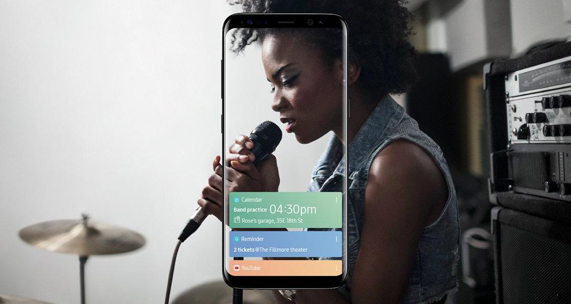 Galaxy S8 Features Bixby Button