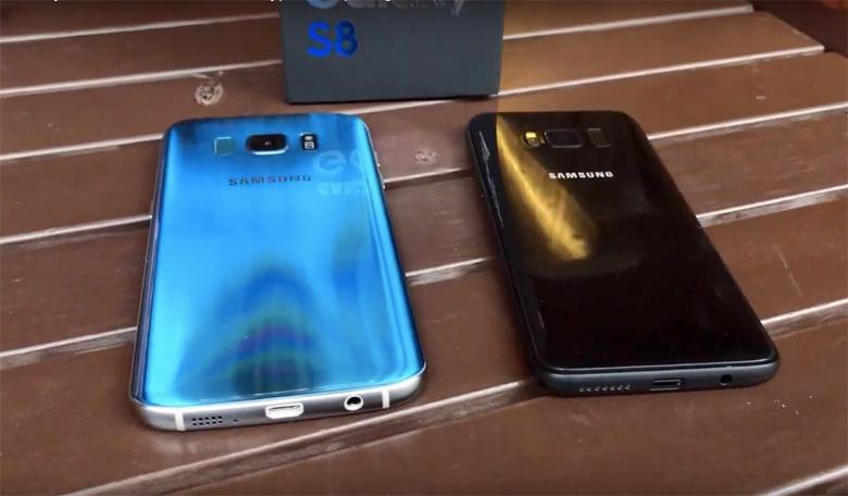 Galaxy S8 vs. iPhone 7 Plus Benchmark Scores