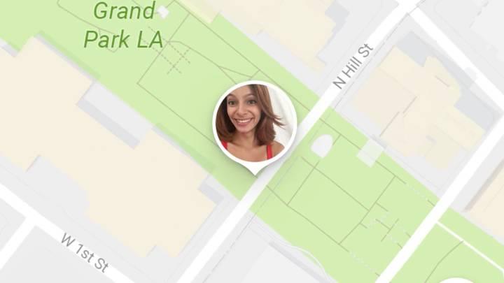 google maps share location